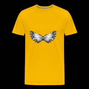 Angel wings - angel - wings - Bird - Mannen Premium T-shirt