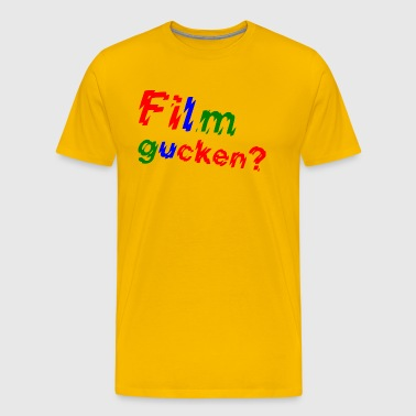 Watching a movie? - Men's Premium T-Shirt