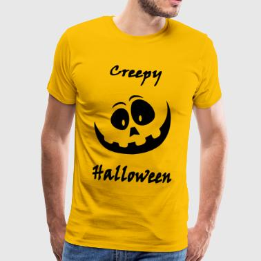 Creepy Halloween - Men's Premium T-Shirt