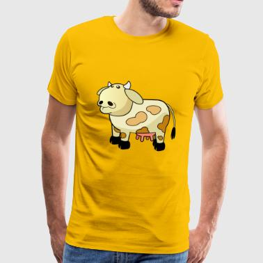 cheese cheese pizza sandwich mouse mouse food38 - Men's Premium T-Shirt