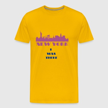 I Was There NewYork - Men's Premium T-Shirt