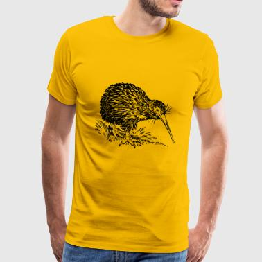 kiwi fruits fruit fruit fruit veggie vegetarian - Men's Premium T-Shirt