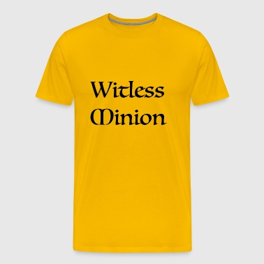 Witless Minion - Men's Premium T-Shirt