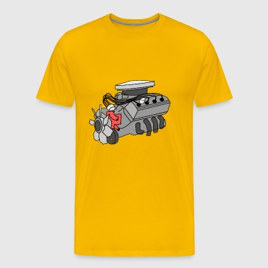 engine - Men's Premium T-Shirt