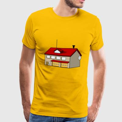 Fire Station Fire Station Fire Station Firefighter - Men's Premium T-Shirt