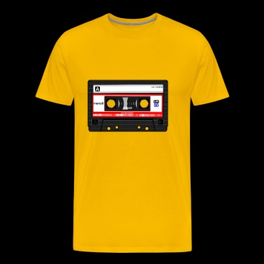 compact cassette tape - Men's Premium T-Shirt