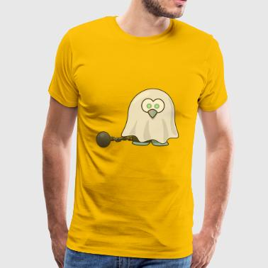 ghost tux - Men's Premium T-Shirt
