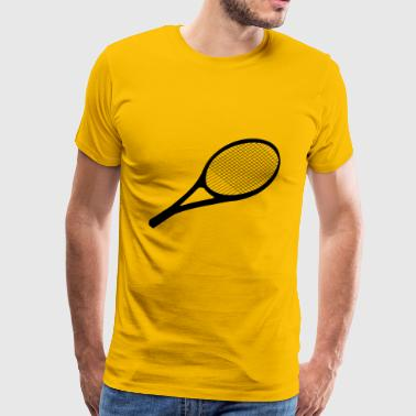 tennis racket - Men's Premium T-Shirt