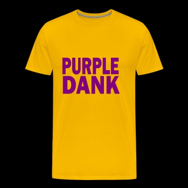 purple dank - Men's Premium T-Shirt