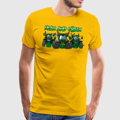 MeanAndGreen 2 - Premium T-skjorte for menn