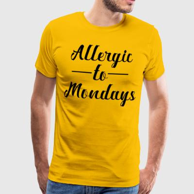 Allergic to assembly - Men's Premium T-Shirt