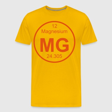Magnesium (Mg) (element 12) - Men's Premium T-Shirt
