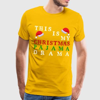 Christmas pajamas - Men's Premium T-Shirt