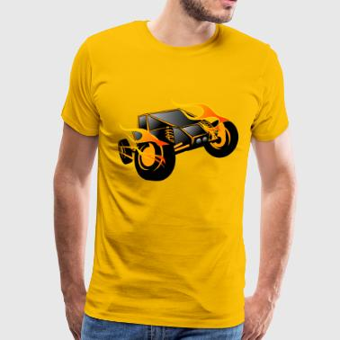 Remote controlled sports car - Men's Premium T-Shirt