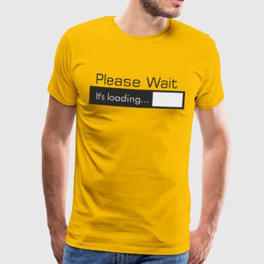 PLEASE_WAIT - Camiseta premium hombre