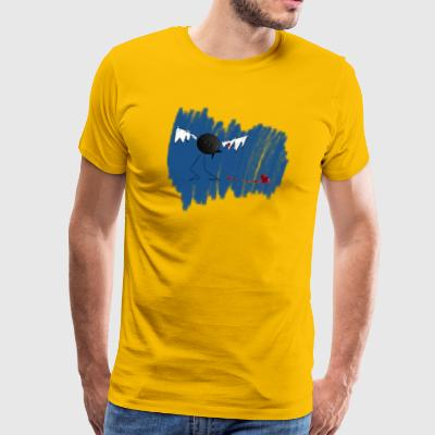 bird ketchup 2 - Men's Premium T-Shirt