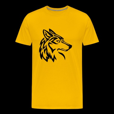 Tribal Husky - Men's Premium T-Shirt