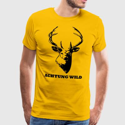 Hubertus Game Warning T-Shirt