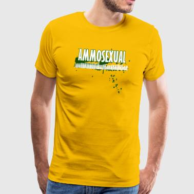 Ammosexual Multi-Caliber (wit) - Mannen Premium T-shirt