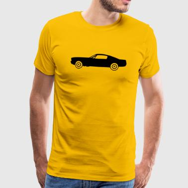 muscle_car_fastback - T-shirt Premium Homme