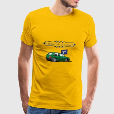 Italian Old Cars Amoureux - T-shirt Premium Homme