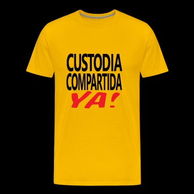 Custodia Compartida YA Negro - Men's Premium T-Shirt