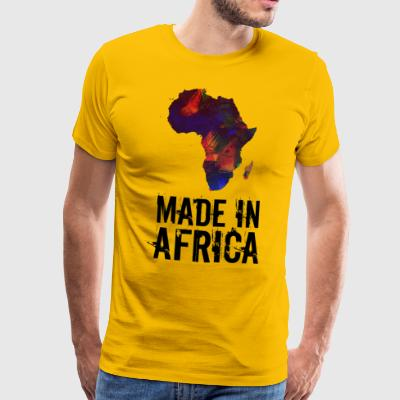 Made In Africa / Afrika - Herre premium T-shirt