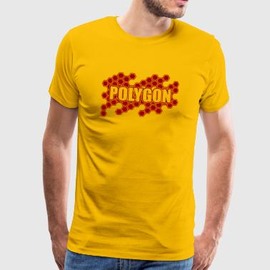 polygon - Premium-T-shirt herr