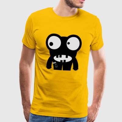 monster Frog - Premium-T-shirt herr