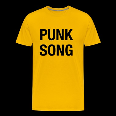 PUNK SONG - Mannen Premium T-shirt