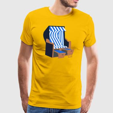 beach chair - Men's Premium T-Shirt