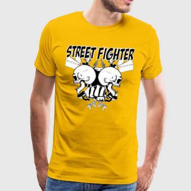 Street Fighter 2 - Mannen Premium T-shirt