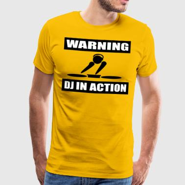 DJ ACTION - T-shirt Premium Homme