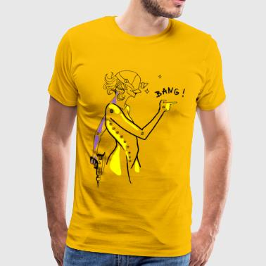 bang !! - Men's Premium T-Shirt