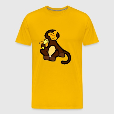 Banana Monkey - Men's Premium T-Shirt