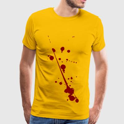 Blood spots - Men's Premium T-Shirt