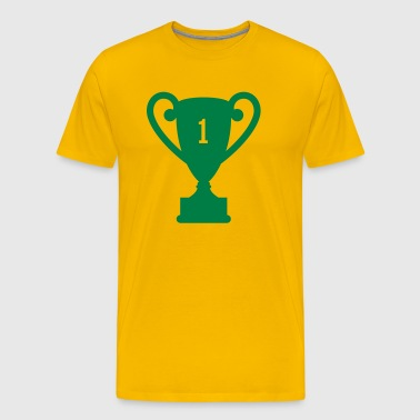 trophy award - Men's Premium T-Shirt