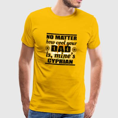 no matter dad cool father poison Cyprus png - Men's Premium T-Shirt