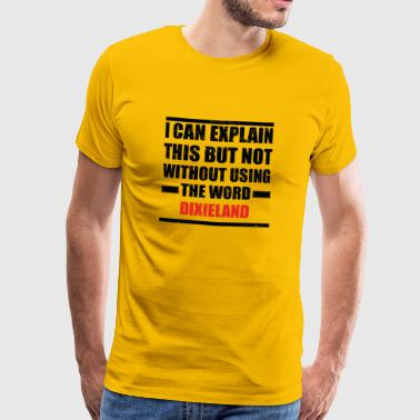 Can explain relationship born love DIXIELAND - Men's Premium T-Shirt