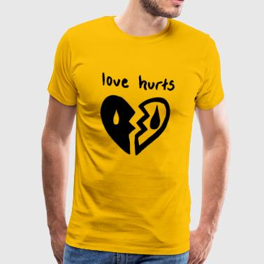 Love Hurts. Love hurts - Men's Premium T-Shirt