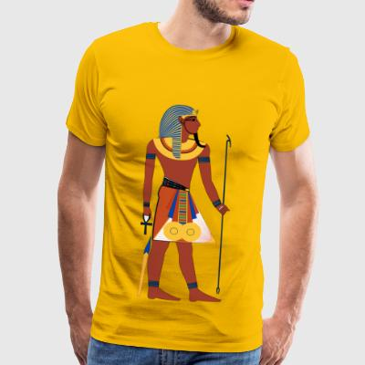 Egyptian Pharaoh 2 - Men's Premium T-Shirt