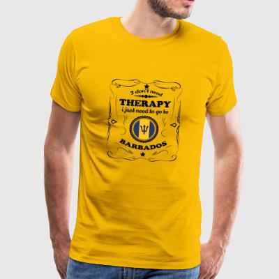 DON T NEED THERAPIE GO BARBADOS - Männer Premium T-Shirt
