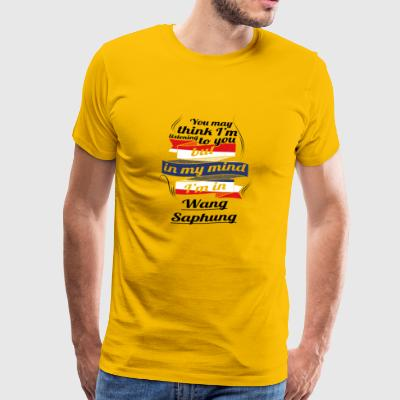 HOLIDAY HOME ROOTS TRAVEL IN Thailand Wang Saph - Men's Premium T-Shirt