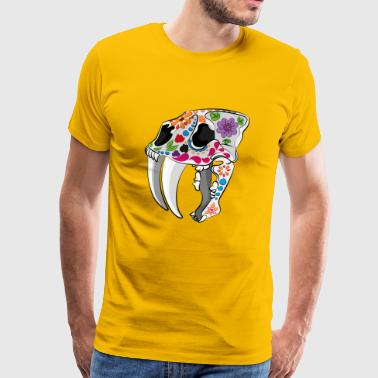 Day of the extinct: Sabretooth - Premium-T-shirt herr