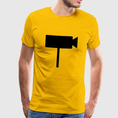 Security Cam inactive - Männer Premium T-Shirt