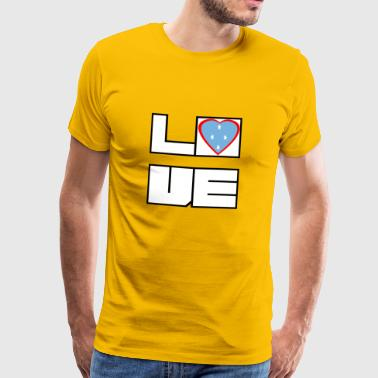 Love Land Roots Micronesia - Men's Premium T-Shirt