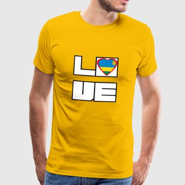 Love Land Roots Ruanda - Männer Premium T-Shirt