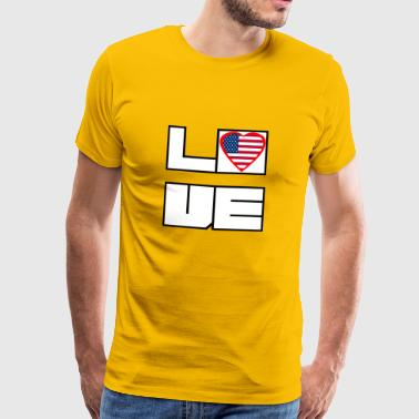 Loveland Roots Amérique Etats-Unis - T-shirt Premium Homme