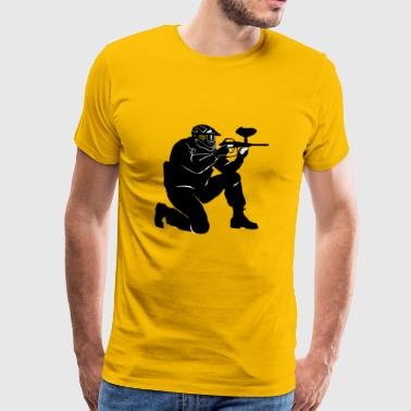 gotcha paintball2 - Premium-T-shirt herr