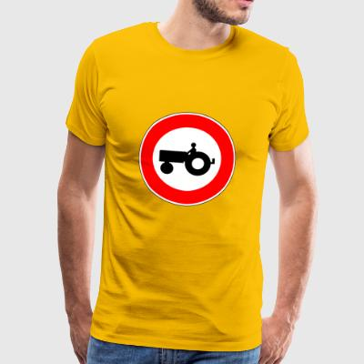 No tractor - Men's Premium T-Shirt